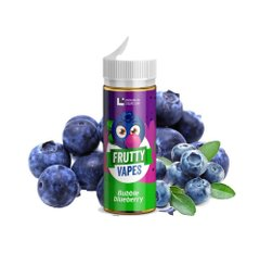 Жидкость для вейпа Frutty Vapes Bubble Blueberry Черника (60 мл/0 мг)
